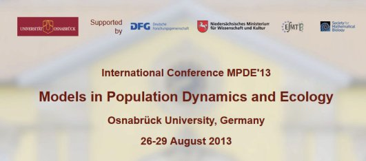 Internationale Konferenz: Models in Population Dynamics and Ecology